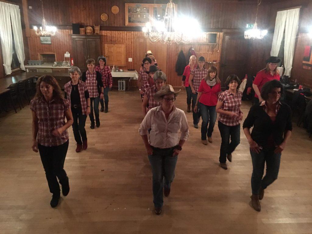 Aktuelle Tanzliste für Line Dance Night in Krummenau