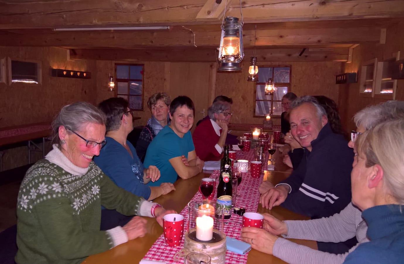 Fondue-Höck im Oberhägli